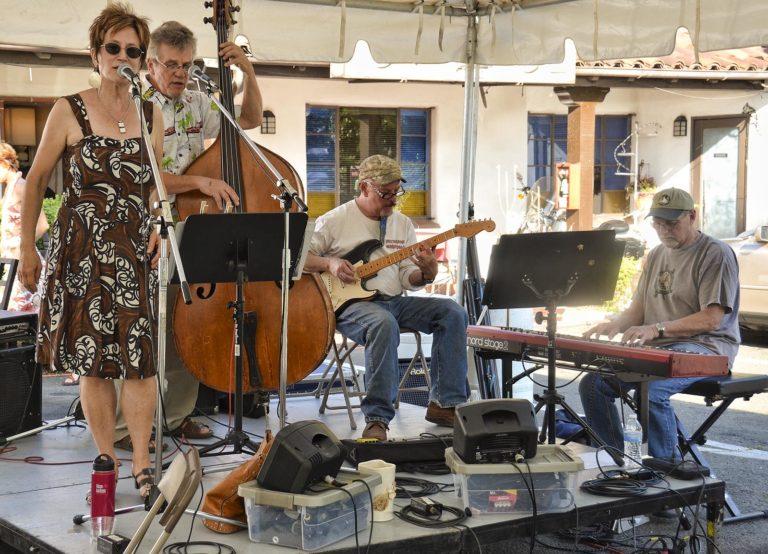 Live music at Art at the Matador