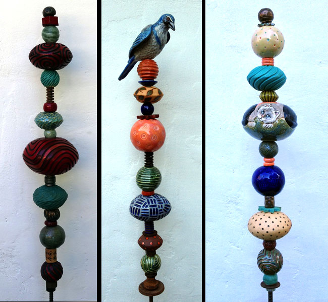 Susan Kirk Ceramic Totems | Art at the Matador