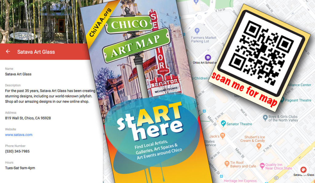 Chico Art Map - Get a Listing