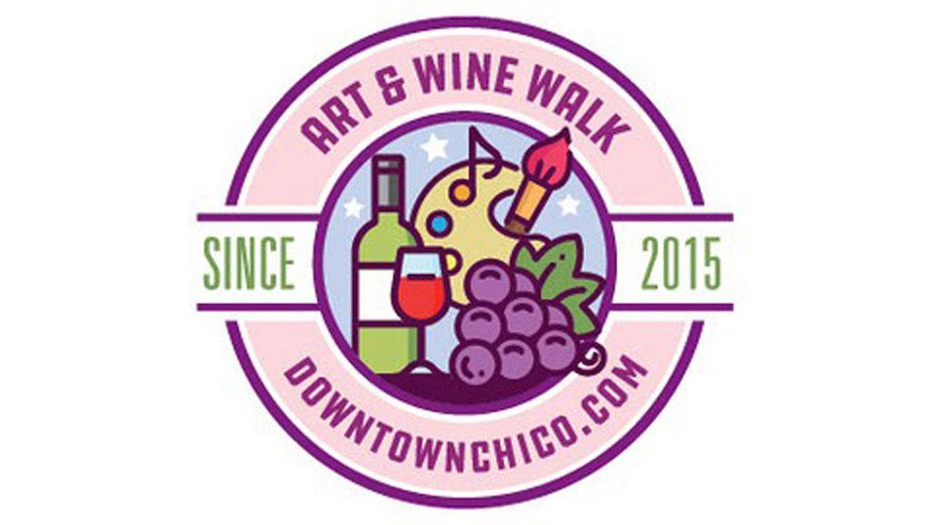 Downtown Chico Art Wine Walk